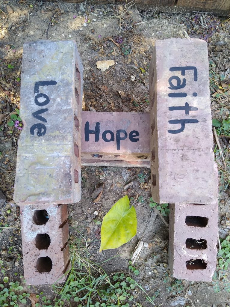 Hope is the foundation. Hope alone