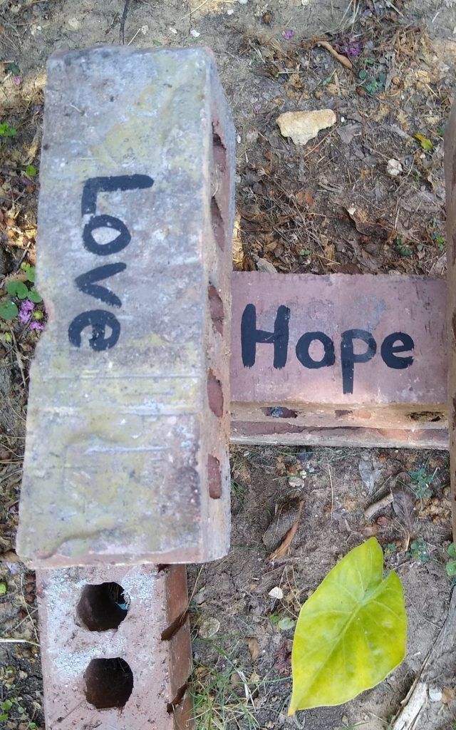 HOPE IS THE FOUNDATION FOR LOVE